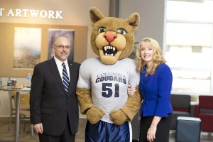 Scott and Tina Dalrymple with Scooer