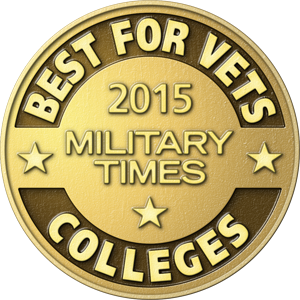 Columbia College ranks #4 on the Best for Vets list