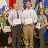 Seniors, Randerson inducted into SALUTE military honor society