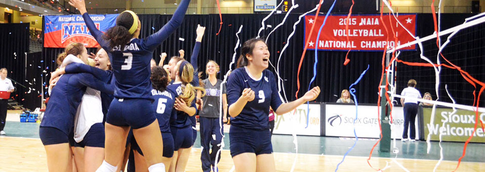Columbia College Volleyball wins fourth NAIA National Title!
