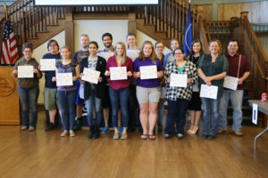 The Columbia College Student Support Services program's group of Academic Achievers. (Photo courtesy of SSS)