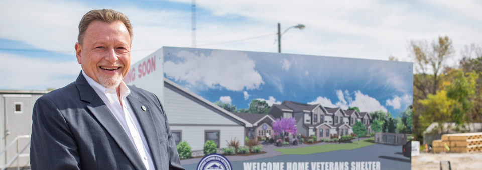 Alumnus Tim Rich takes the reins at Welcome Home