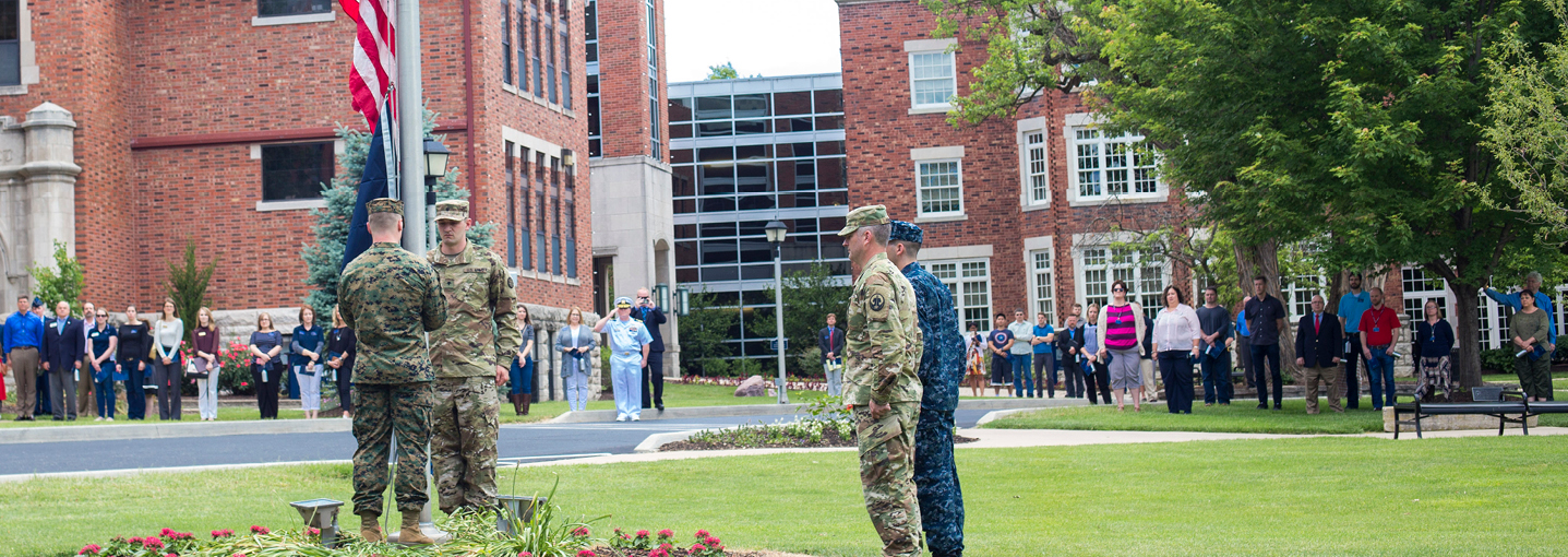 Columbia College celebrates Military Recognition Day