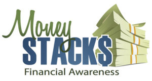 money stacks, financial awareness