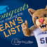 Summer 2017 Semester dean's list announced