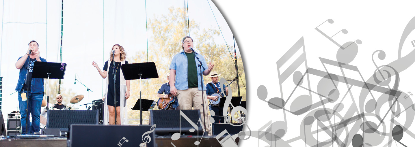 Music students shine at Roots N Blues festival