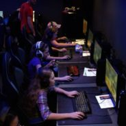 Middle school girls explore game design and eSports at Girls Who Game event