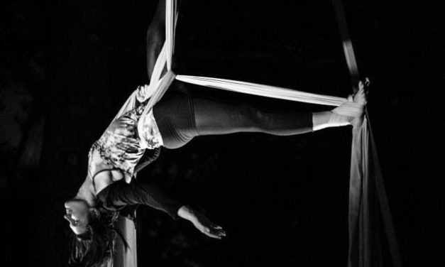 Dot Johnson '13 excels as both nurse and aerialist