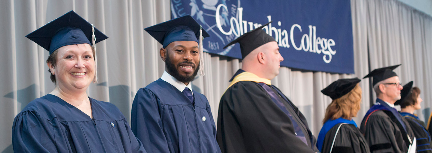 Student speakers inspire fellow graduates at fall commencement