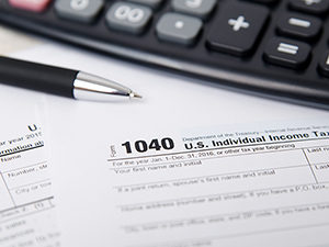 taxes, tax form
