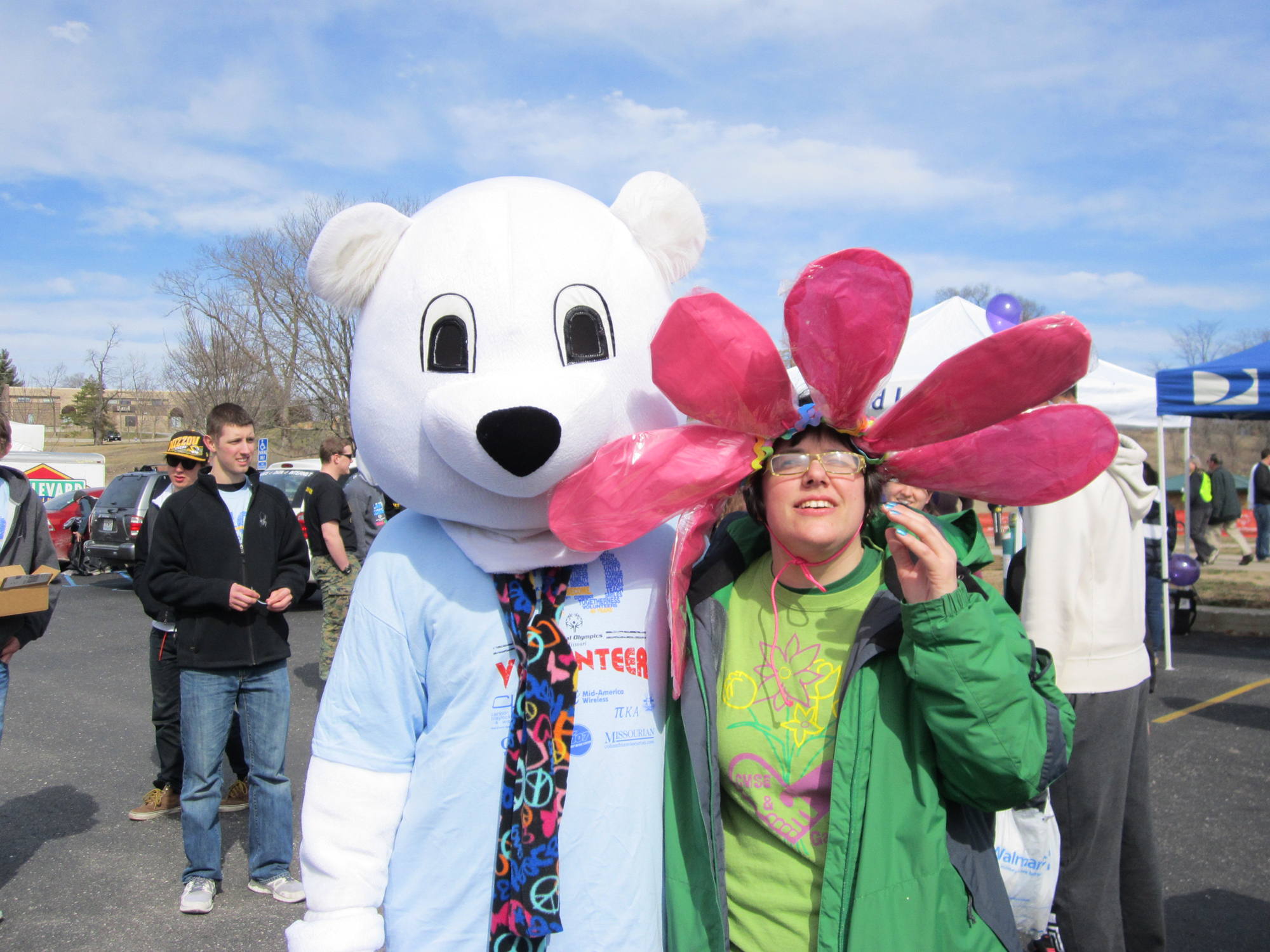 Byland 'perfect ambassador' for Special Olympics Polar Plunge