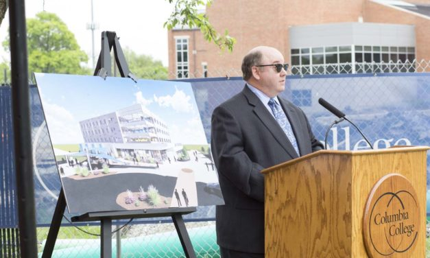 Columbia College hosts groundbreaking ceremony for new Academic and Residence Hall