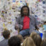 Students work with world-renowned artist on Columbia visit