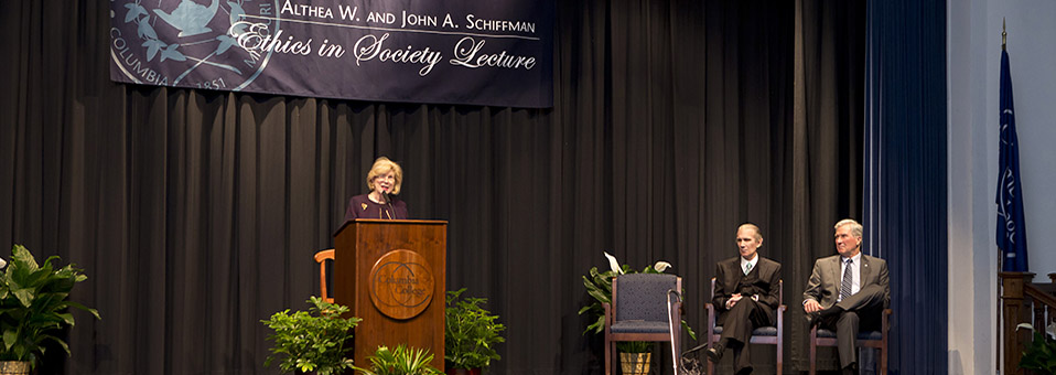 NPR correspondent speaks at annual Schiffman Ethics in Society lecture