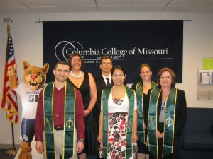 Columbia College–Lake County students