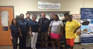 Fort Stewart campus College Colors