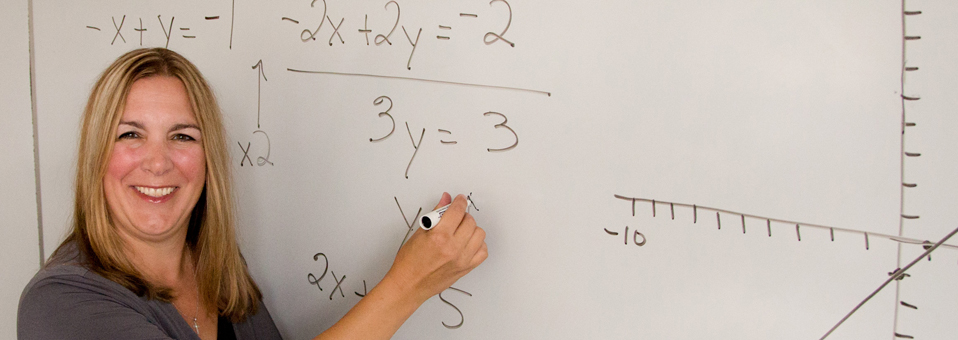 A Crystal Lake faculty member's formula for success