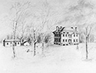 Drawing of Bennett Mansion