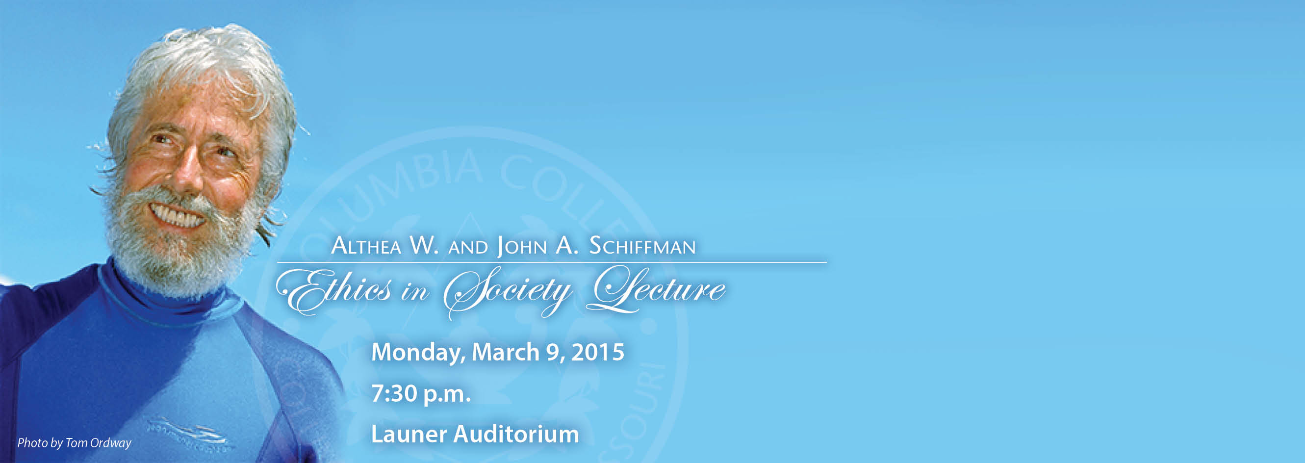 Columbia College to host Jean-Michel Cousteau