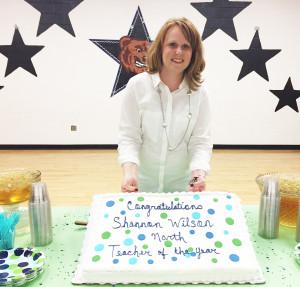 Shannon Wilson named Teacher of the Year