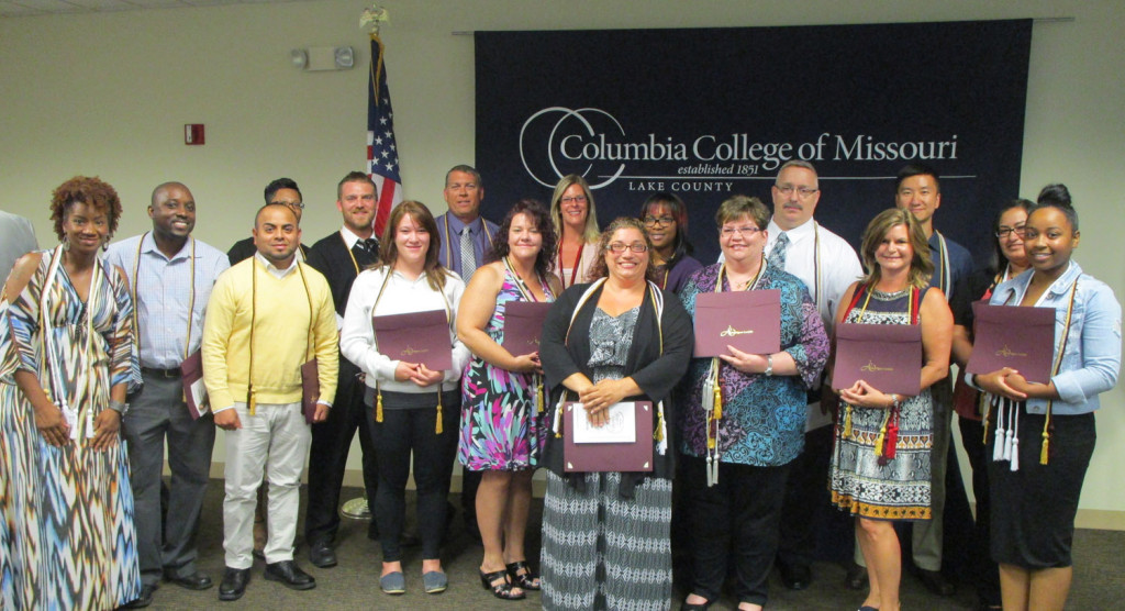 Students were inducted into four different honor societies at the Lake county campus on August 5 including Alpha Sigma Lambda, which recognizes the special achievements of adults who accomplish academic excellence while balancing competing interests between work and home.