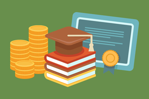 scholarship education graphic