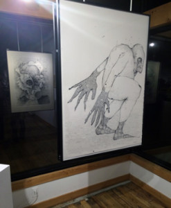 Visual Arts & Music Department Chair Mike Sleadd exhibits his work at the Sager Braudis Gallery.
