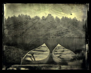"""Art Professor Scott McMahon takes first place for """"Pastoral Scene"""" at Orr Street Studios' Photo Vision Show."""