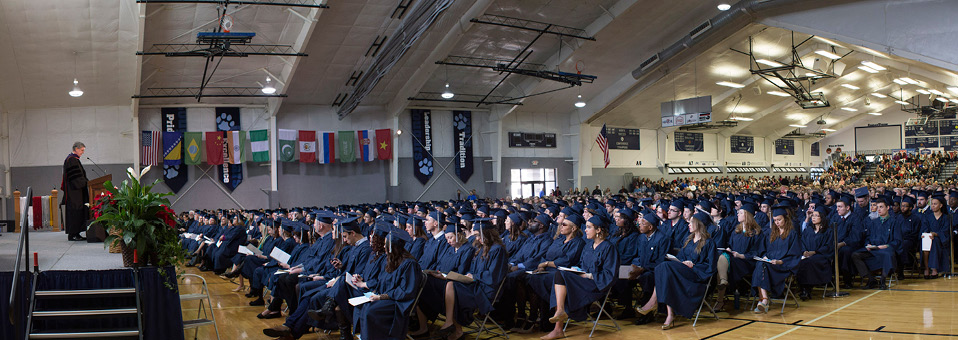 December 2015 commencement highlighted by full house, full hearts