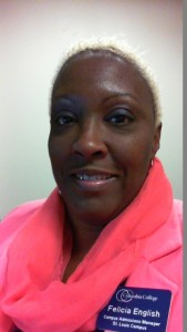 Campus Admissions Manager Felicia English