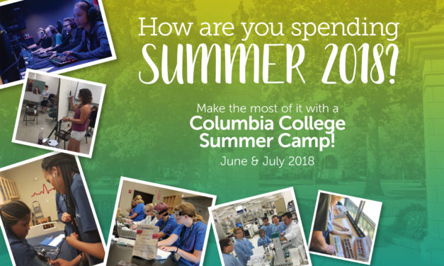 Sign up now for Columbia College summer camps!