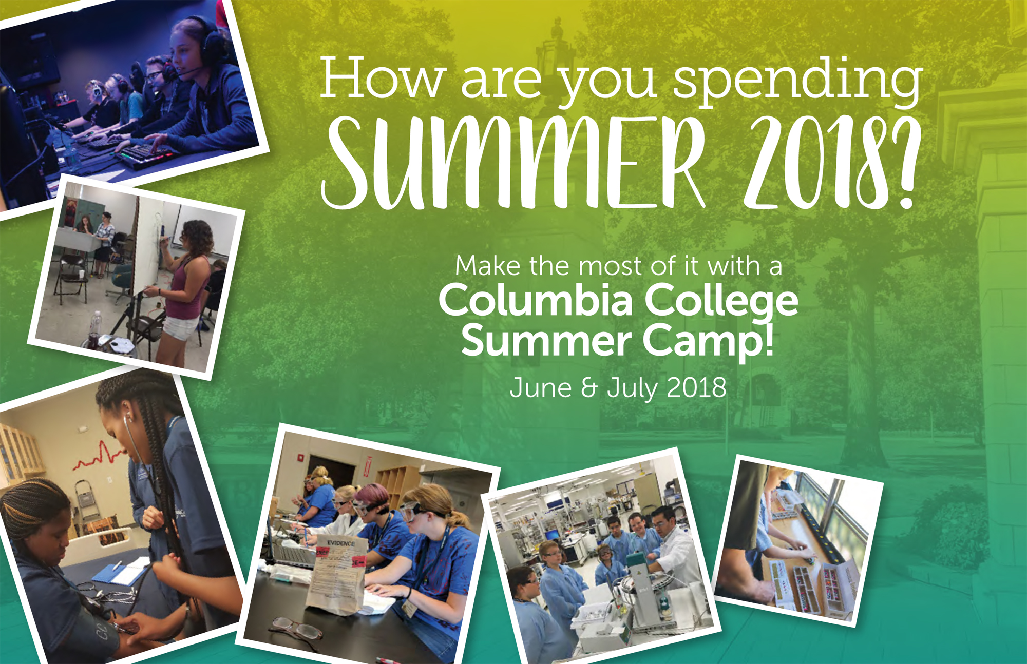Sign up now for Columbia College summer camps! - CC Connected