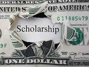 free money scholarship graphic
