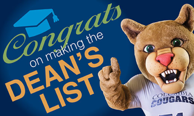 Fall Semester 2019 Dean's List announced