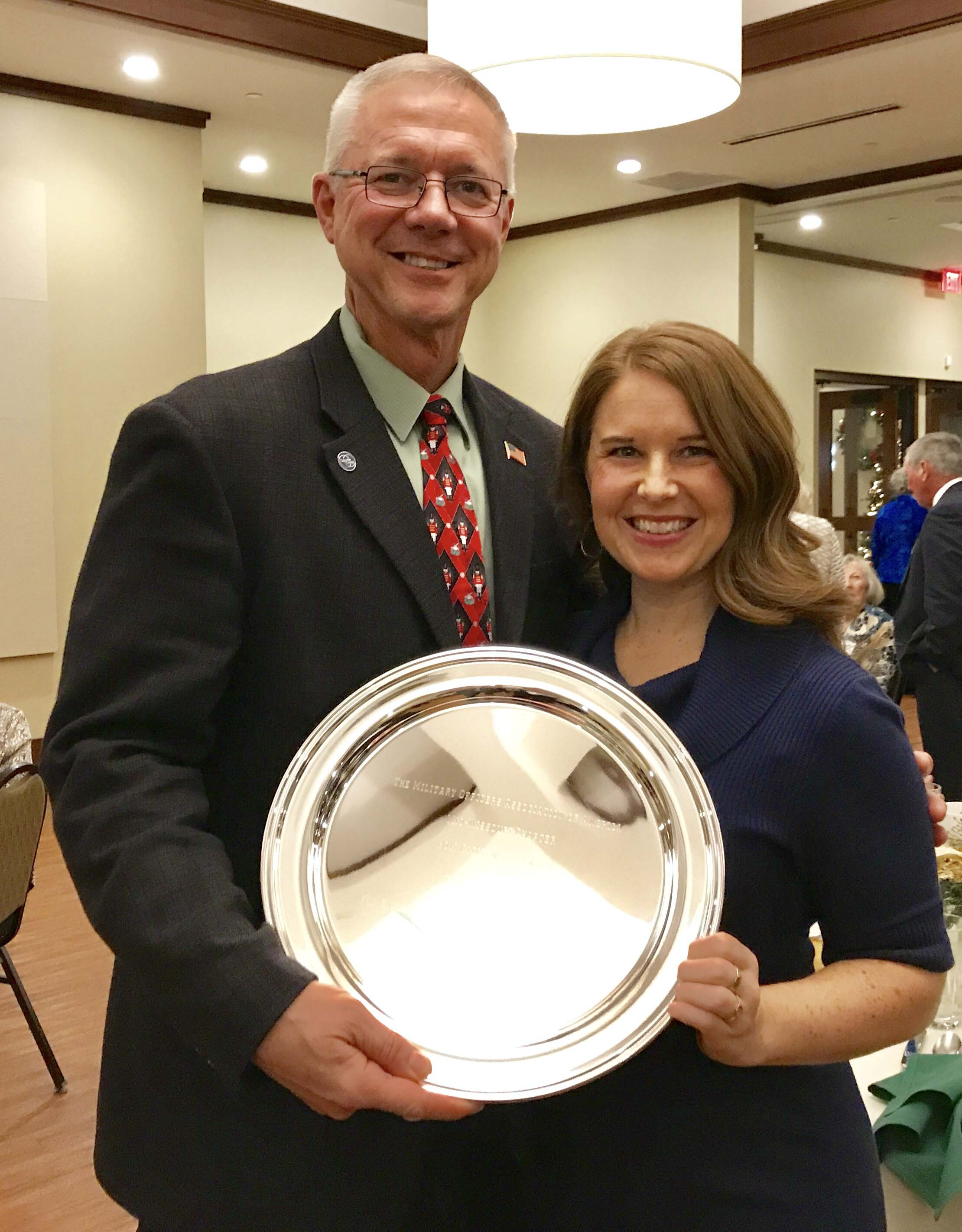 Donelson named MOAA chapter Citizen of the Year