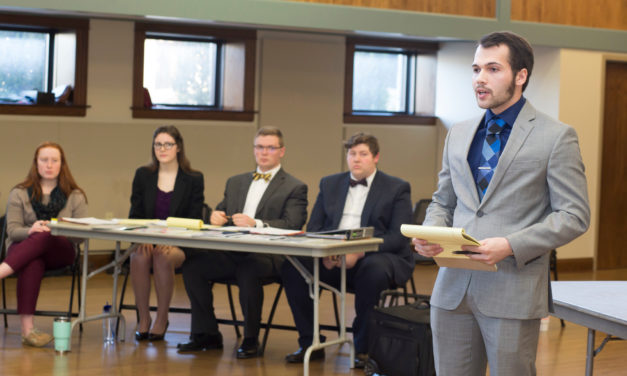 Mock Trial team lays down the law