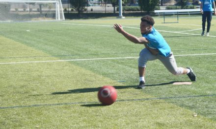 Sports & Event Marketing class raises money for Coyote Hill with kickball
