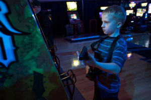 Guitar Hero kid
