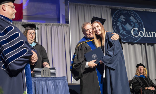 Family, finales highlight spring commencement weekend