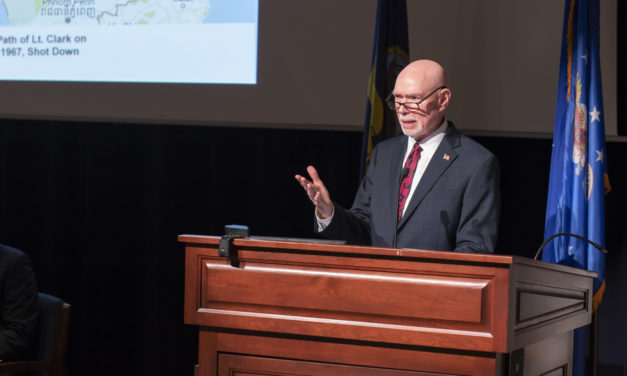 Clark recounts horrors of 'Hanoi Hilton' at 12th Military Recognition Day