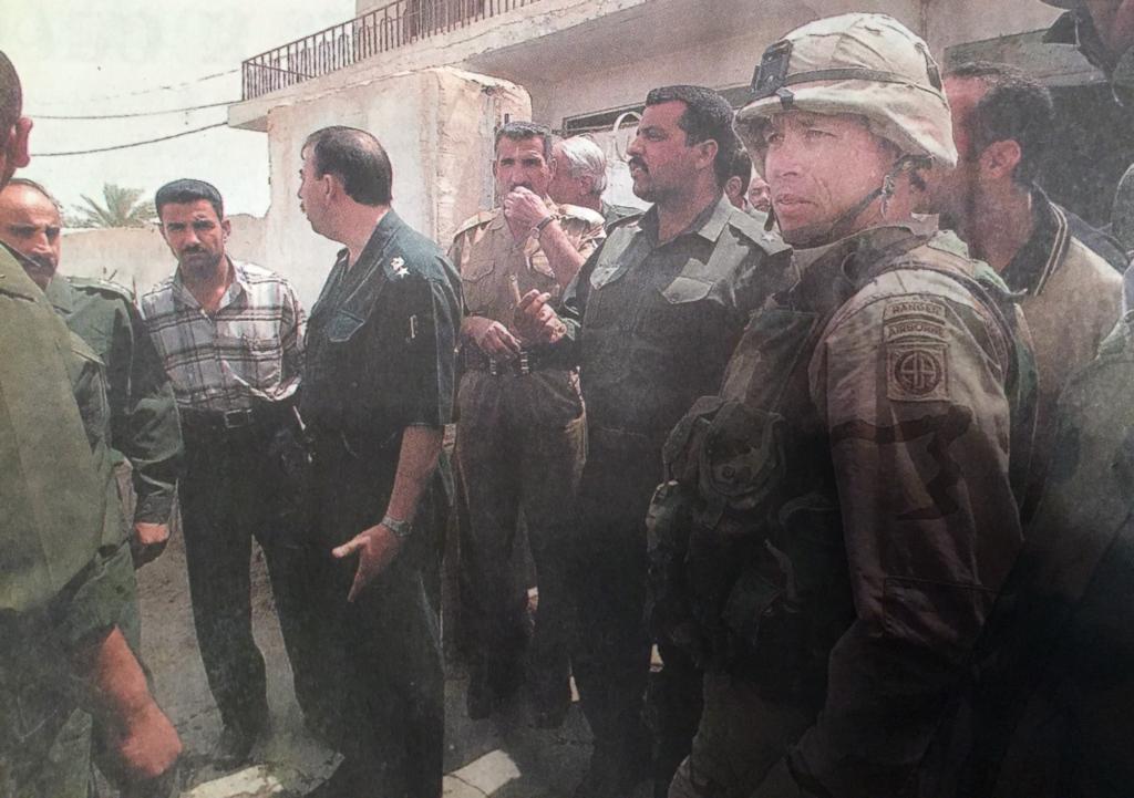 Capt. Rob Boone, Fallujah, Iraq, 2003