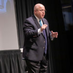 Stagg connects Jesus, capitalism at Schiffman Lecture