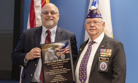 Purple Heart designation highlights college's Veterans Week ceremonies