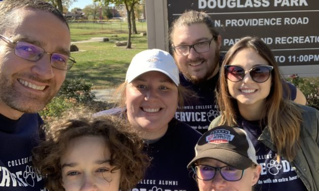 Volunteers share time and talents for inaugural Columbia College Alumni Service Day