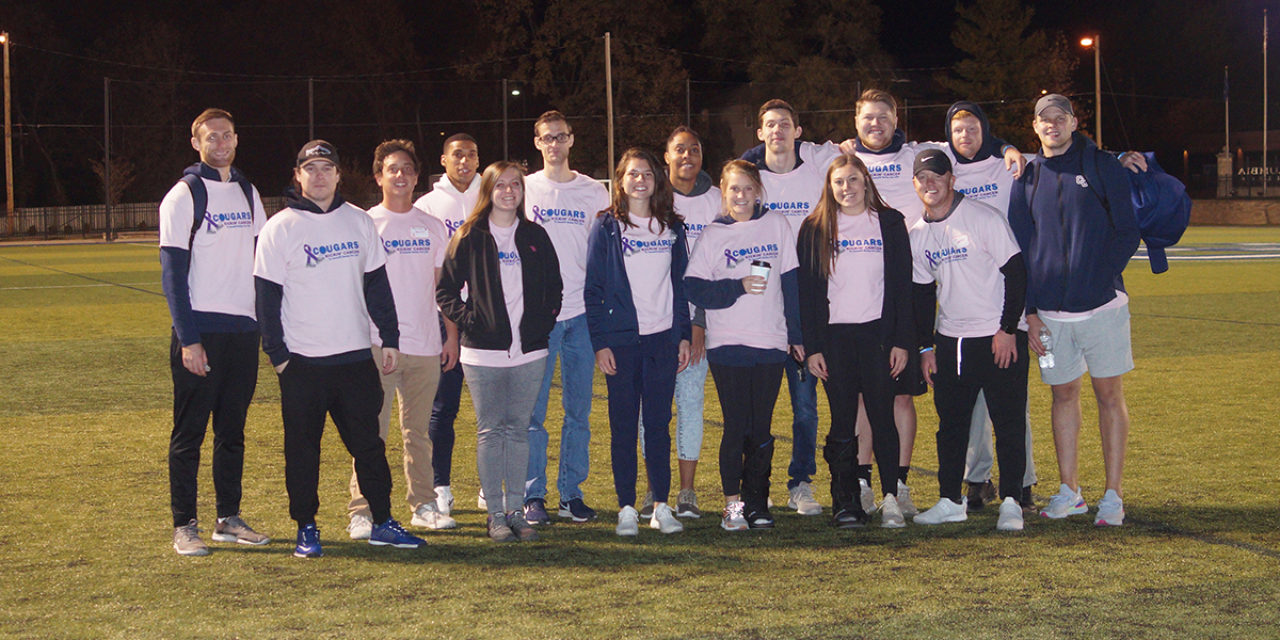 Cougars Kickin' Cancer a grand slam for Relay For Life