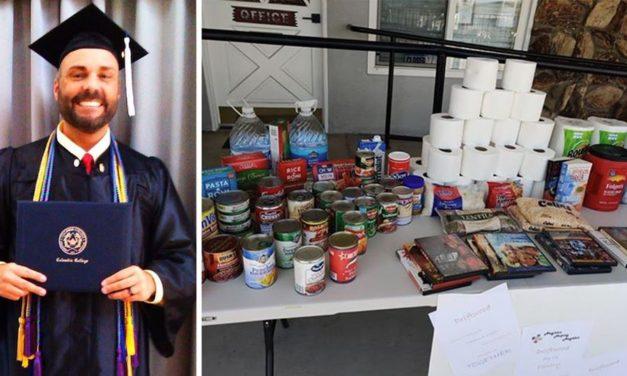 Alumnus creates free pantry for community