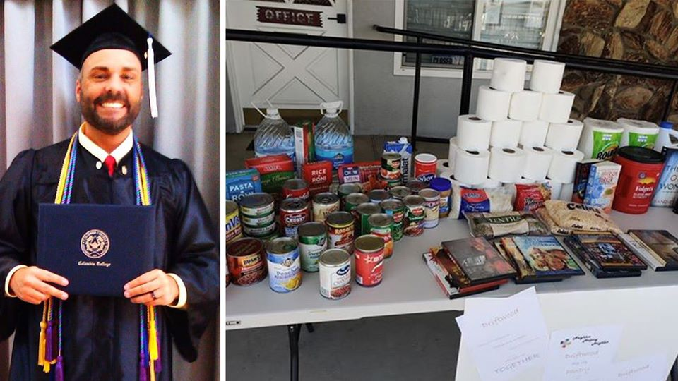 Alumnus creates free pantry for community