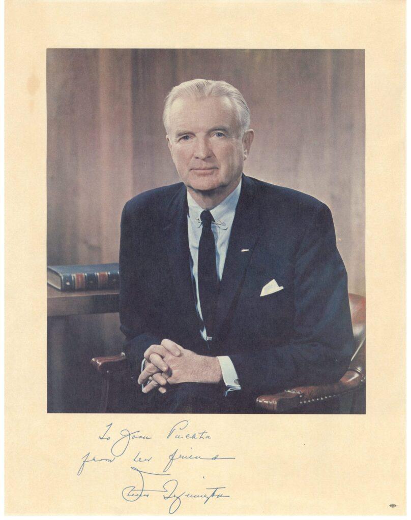 Personalized portrait of Sen. Symington