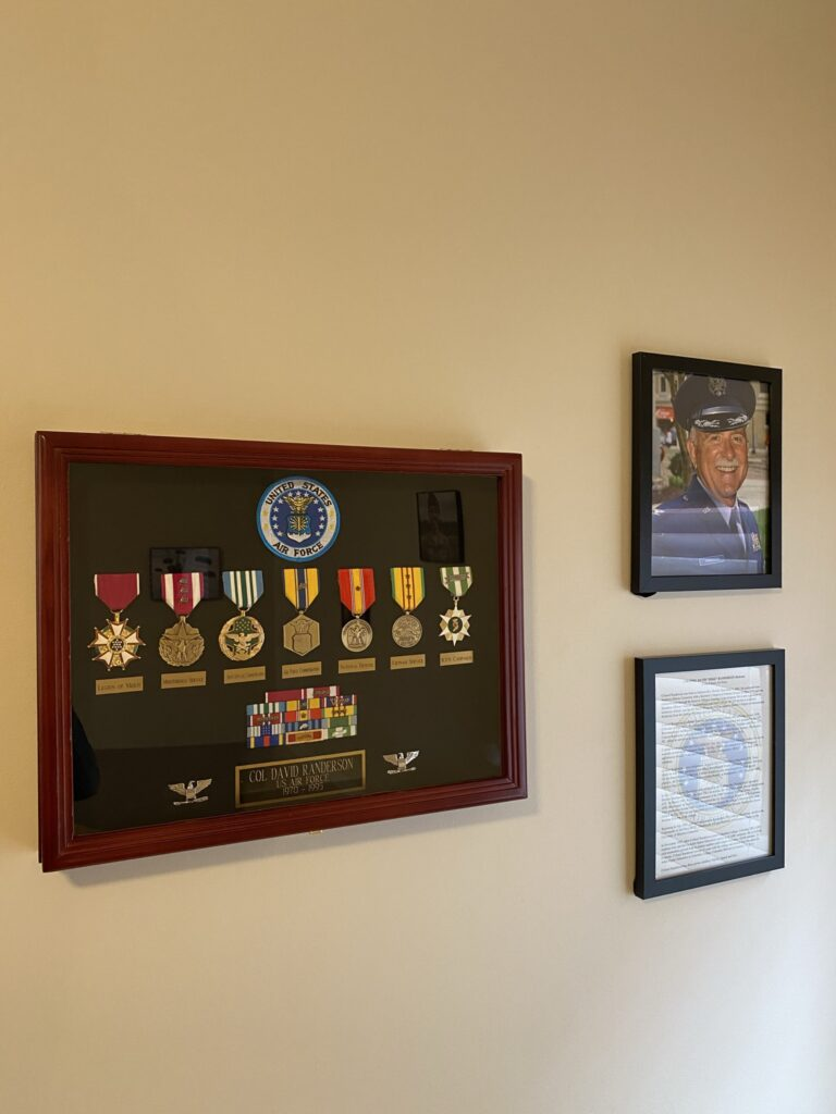 Col. Mike Randerson collage