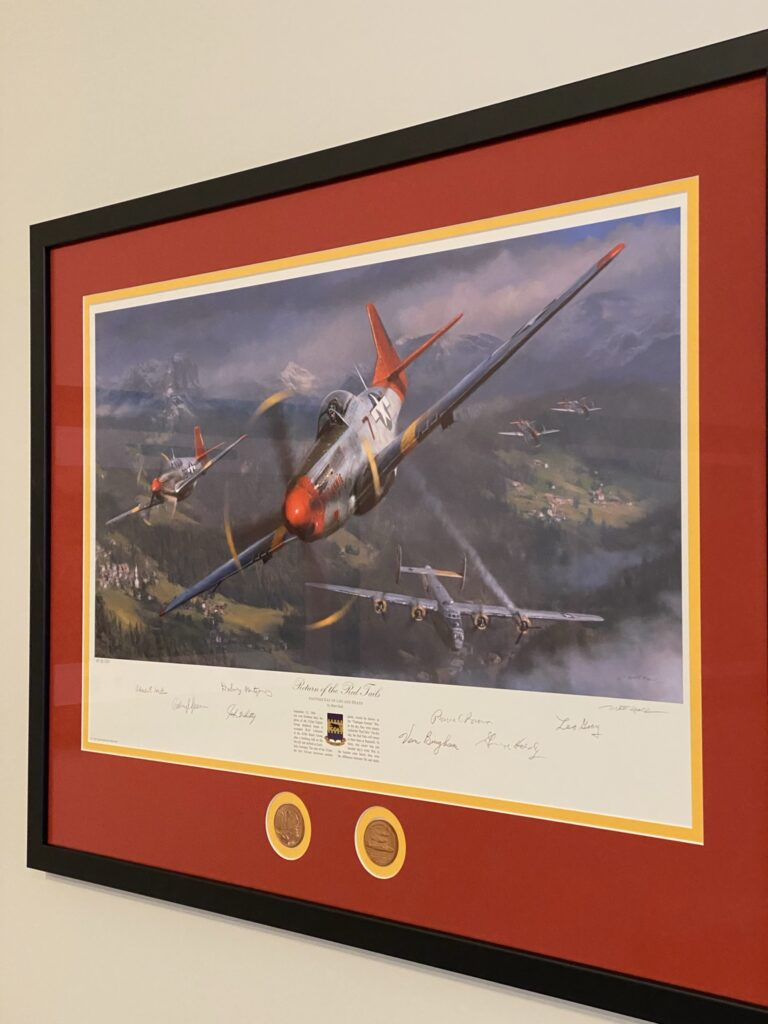 Red Tails painting
